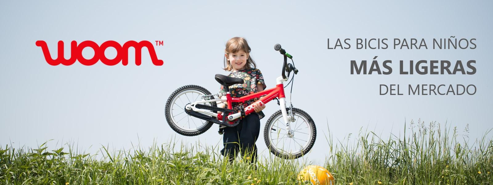 Las bicicletas infantiles más ligeras del mercado